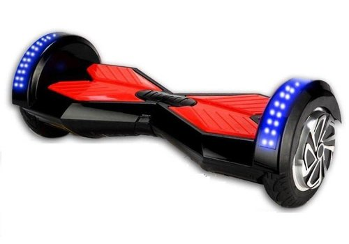 "SB-5000 - 8"" Hoverboard w/ Bluetooth, Lights"