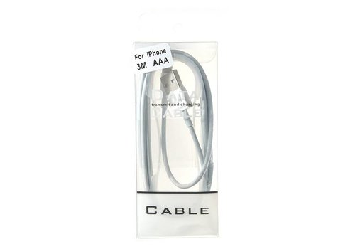 Lightning Cable- 10ft/2.5mm (Package)