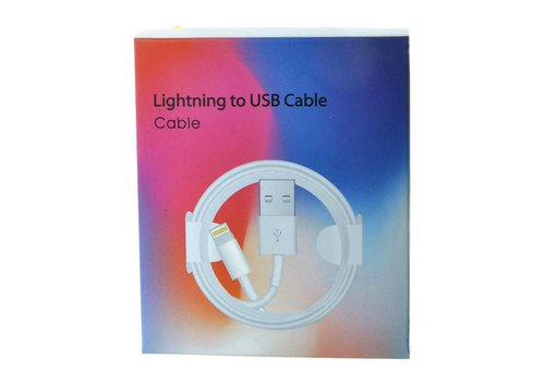 Lightning Cable 3ft - iPhone X (Package Box)