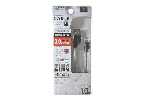 Lightning Cable- 3.0A (X705)