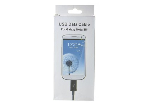 MicroUSB Cable - 3ft (Package)