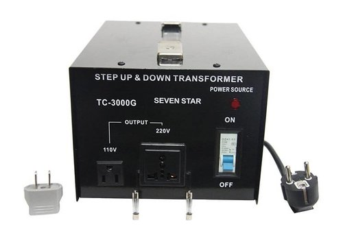Seven Star Seven Star Step Up & Down Transformer (TC3000)