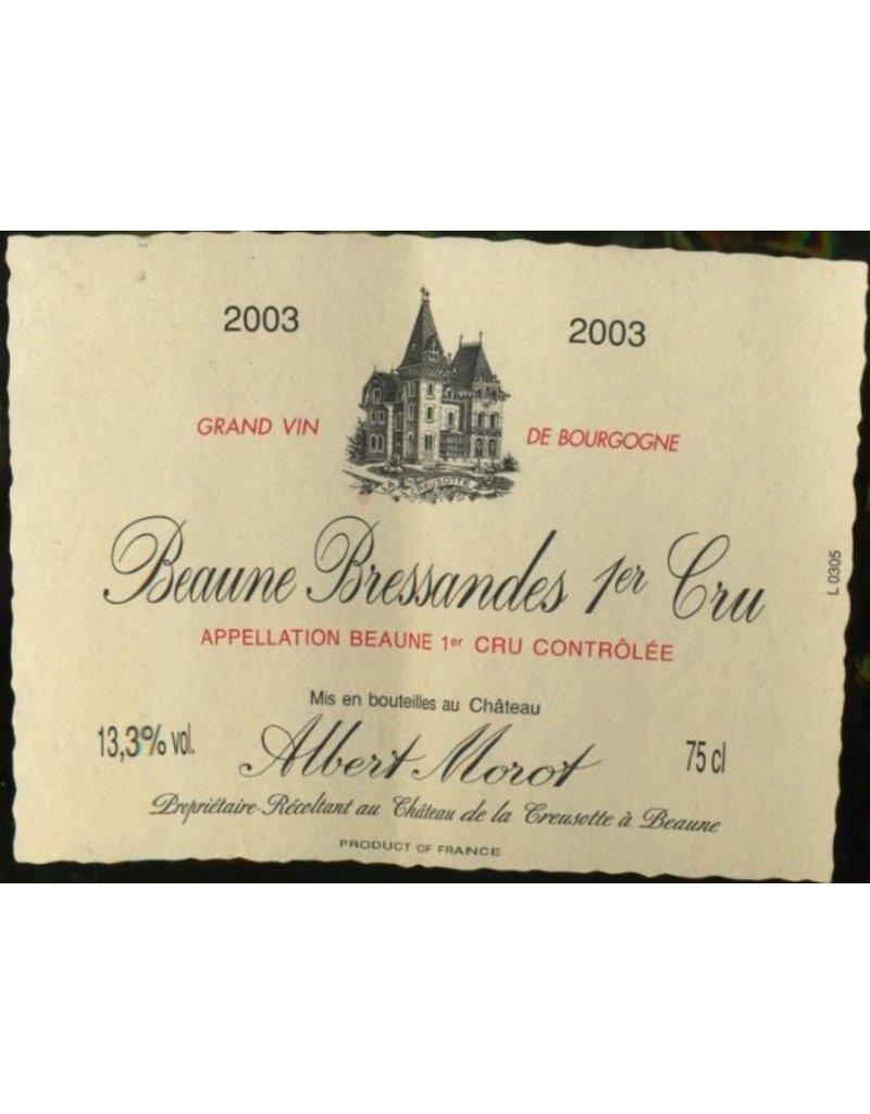 Cellar Albert Morot Beaune Bressandes Premier Cru,12