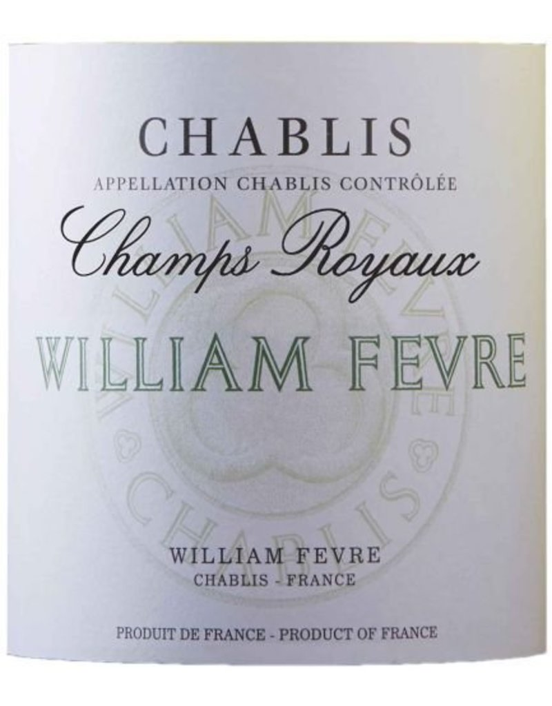 "Charming William Fevre ""Champs Royaux"" Chablis"