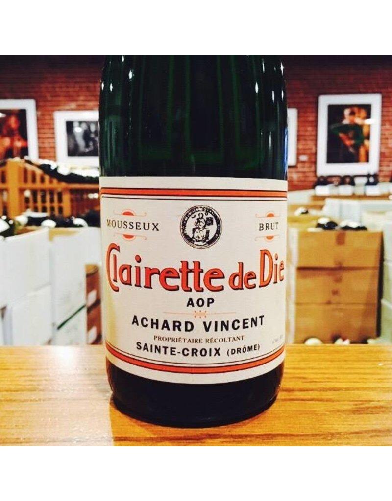 Vivacious Domaine Achard-Vincent Clairette de Die Sparkling Wine