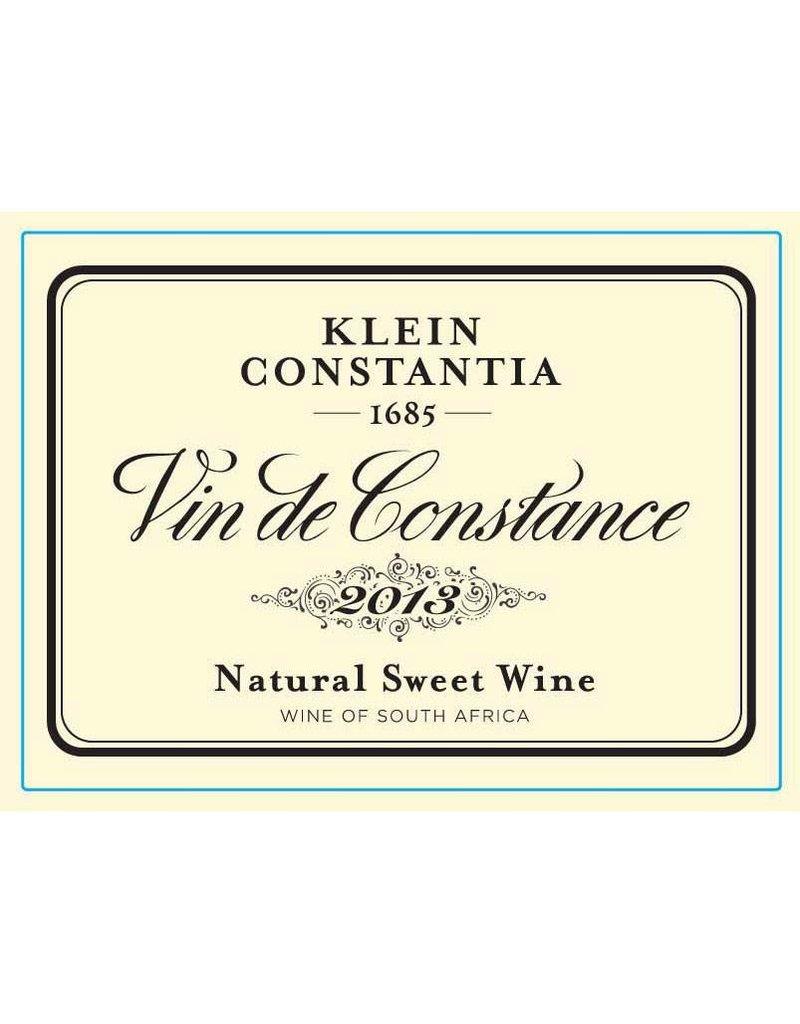 Indulgent Klein Constantia Vin De Constance Muscat 2013