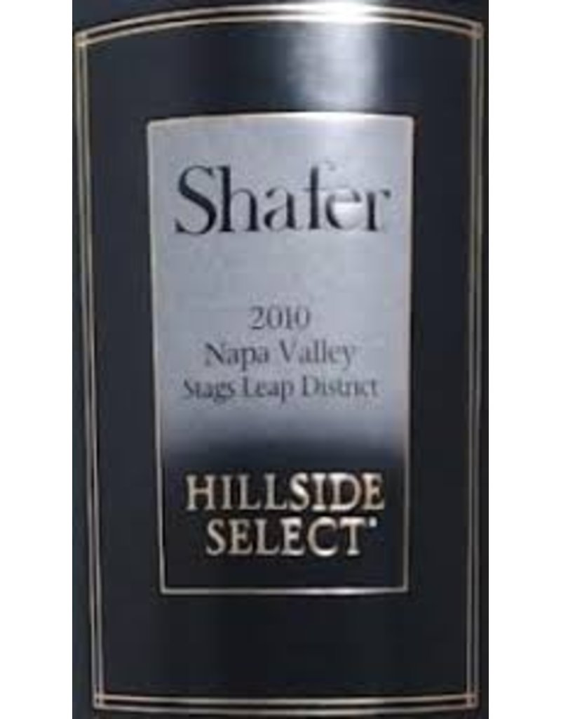 Cellar Shafer Hillside Select, Stags Leap, 2010