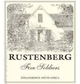 Cellar Rustenberg, 5 Soldiers Chardonnay, South Africa, 2012