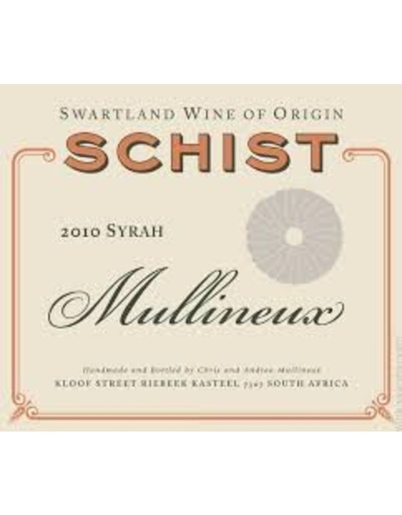 Cellar Mullineux Schist Syrah, South Africa, 2010