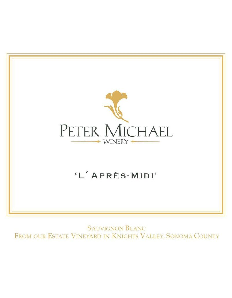 "Cellar Peter Michael ""L'Apres-Midi"" 2016"