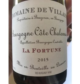 "Cellar Domaine A&P de Villaine Bourgogne Rouge ""La Fortune"", 2015"