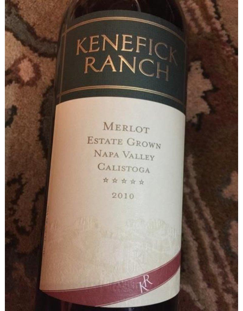 Cellar Kenefick Ranch Estate Grown Calistoga Merlot 2010