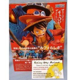 One Piece Tri-Hat Luffy Figure