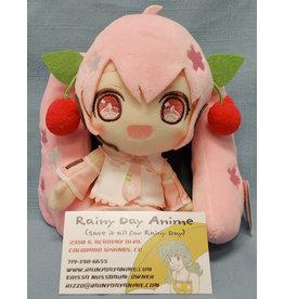 Vocaloid Sakura Miku Smiling Plush