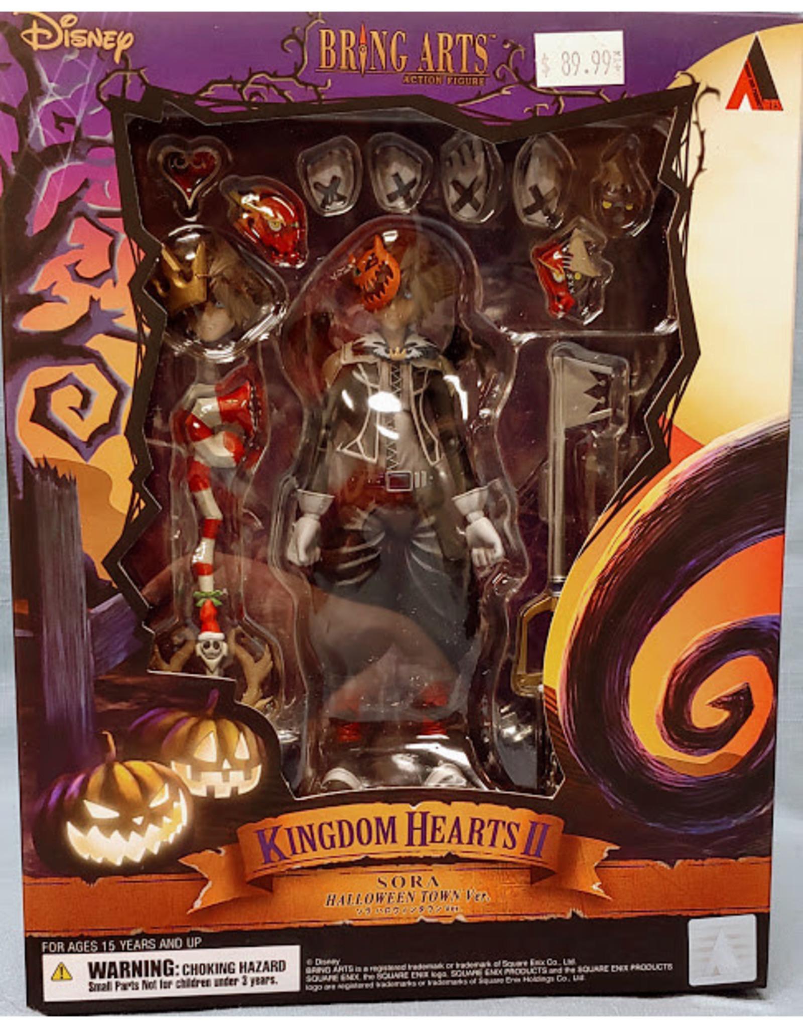 Kingdom Hearts 2 Halloween Sora Bring Arts Figure