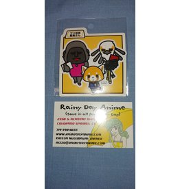 Sanrio Aggretsuko Gori/Wash Sticker