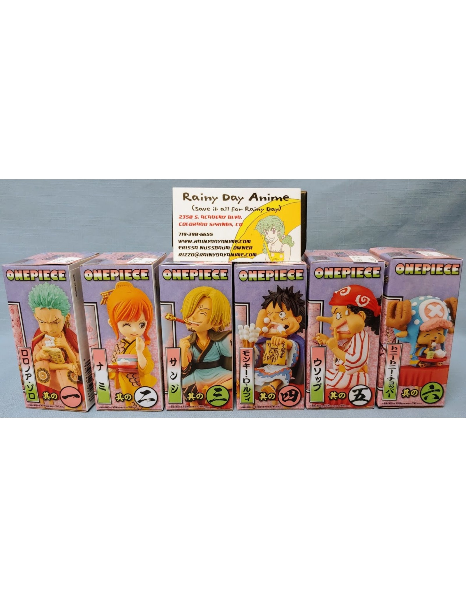 One Piece Japanese Style Crew Figure