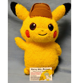 "Pokemon Detective Pikachu Movie 9"" Plush Smirk"