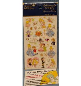 Cinderalla Stickers