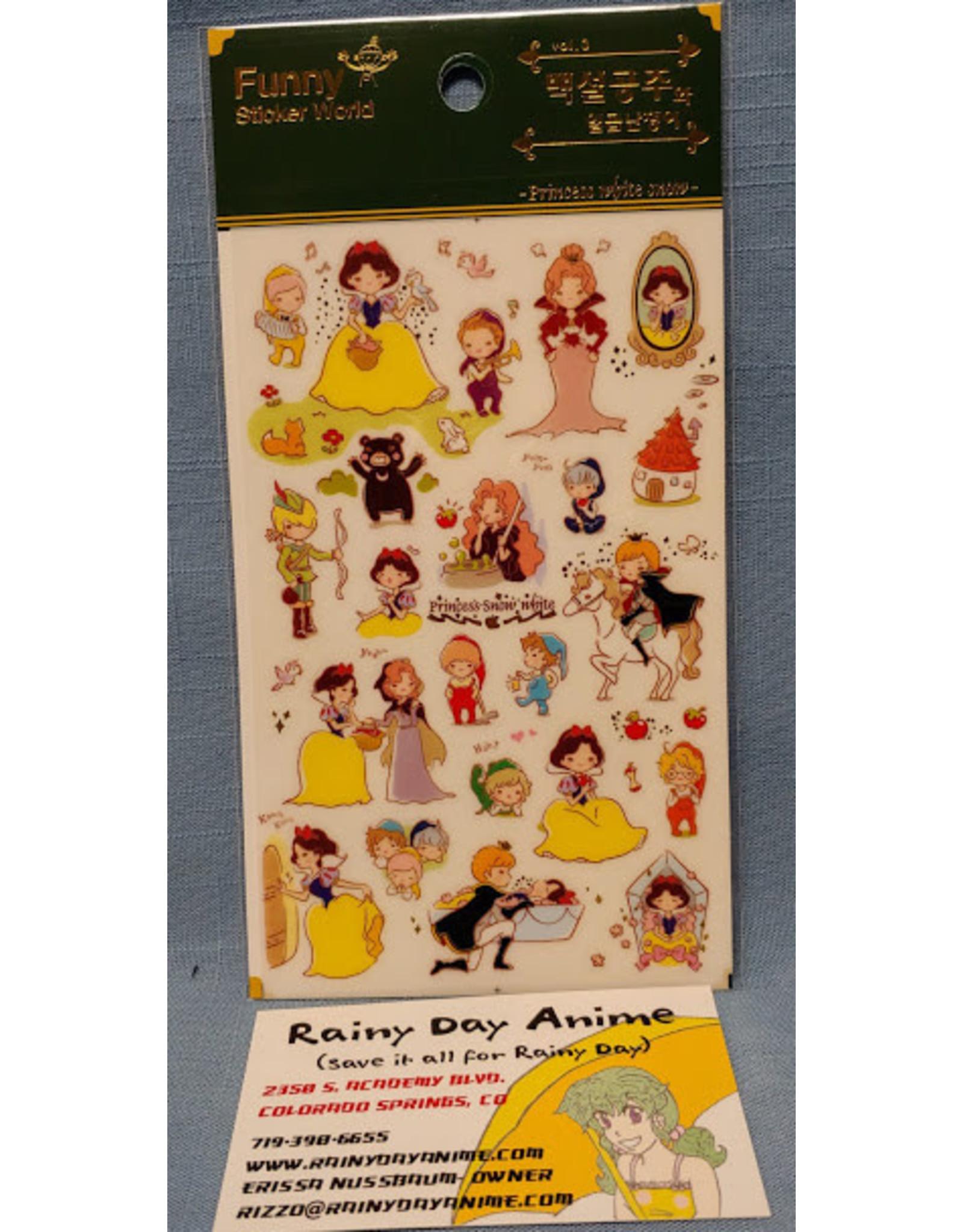 Snow White Stickers