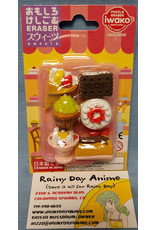 Iwako Sweets Eraser Set
