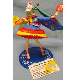 Vocaloid Miku Kitsune Festival Figure