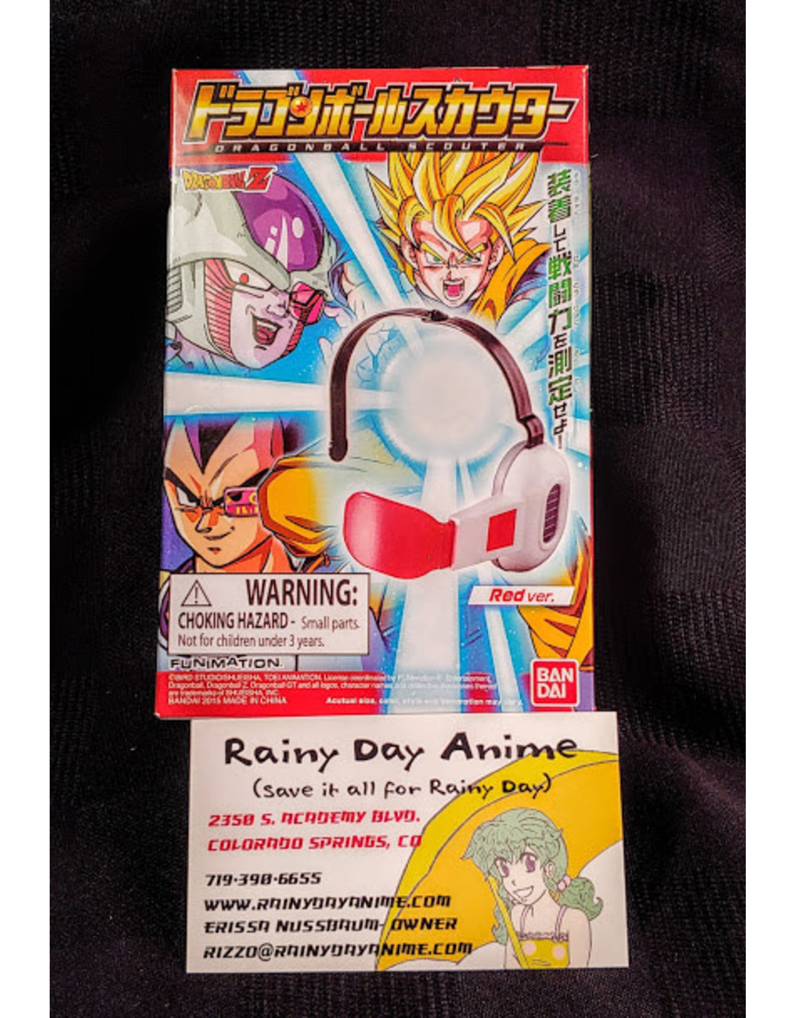 Dragonball Z Scouter Accessory