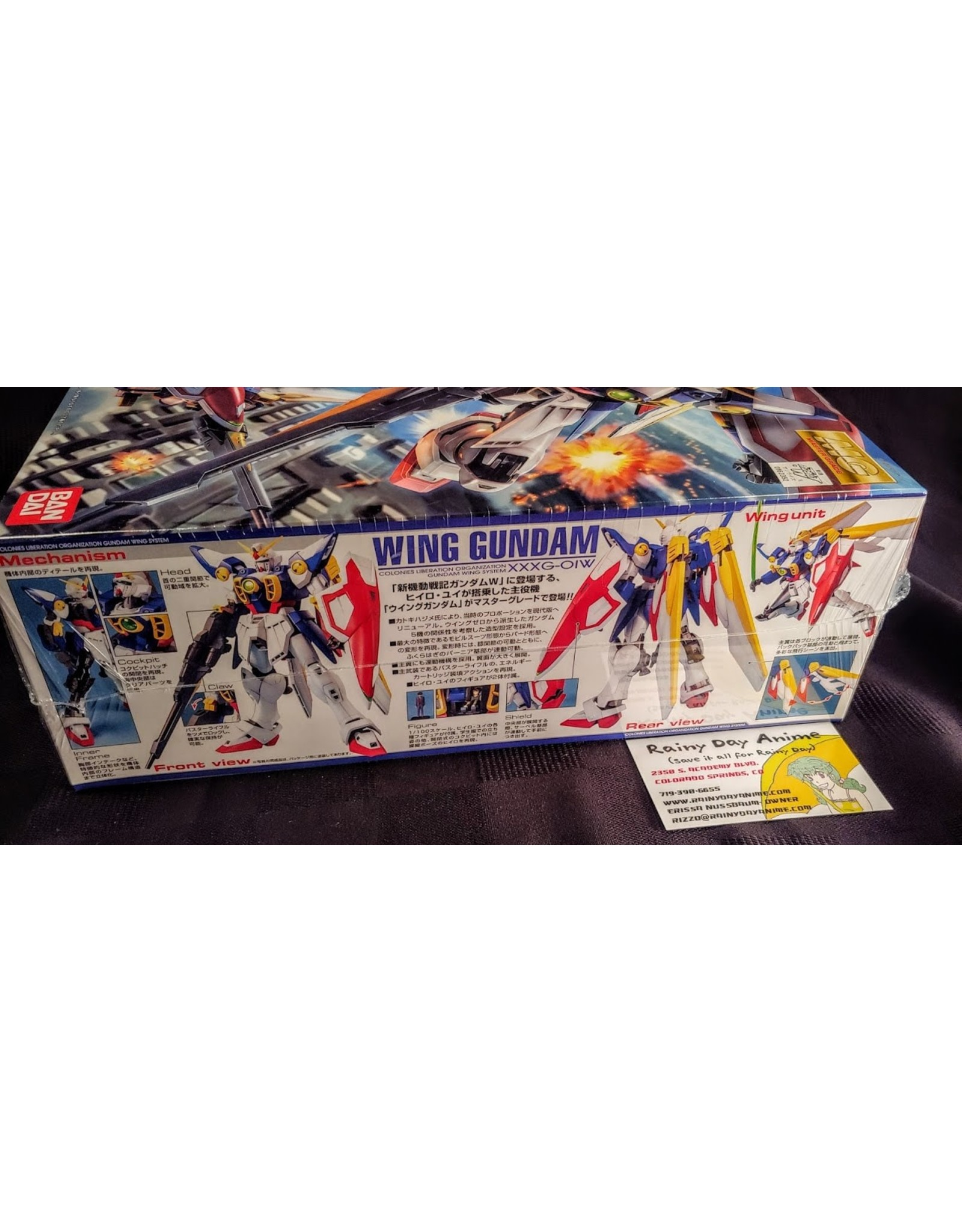 Gundam Wing Transforming MG Model Kit
