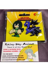 My Hero Academia Froppy/Dark Shadow Pin Set