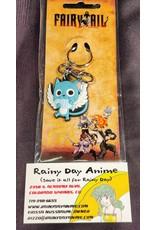 Fairy Tail Happy w/ Fish Keychain