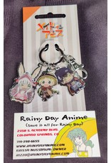 Made in Abyss Trio Metal Keychain