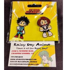 My Hero Academia Deku/Ochaco Pins