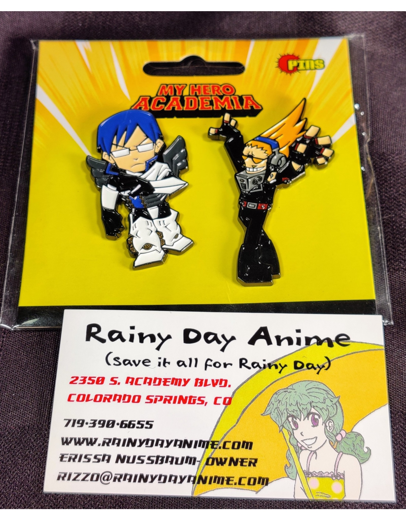 My Hero Academia Tenya/Present Mic Pins