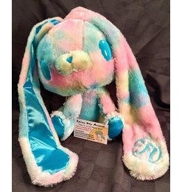 Gloomy Bunny Tie Dye Blue Plush