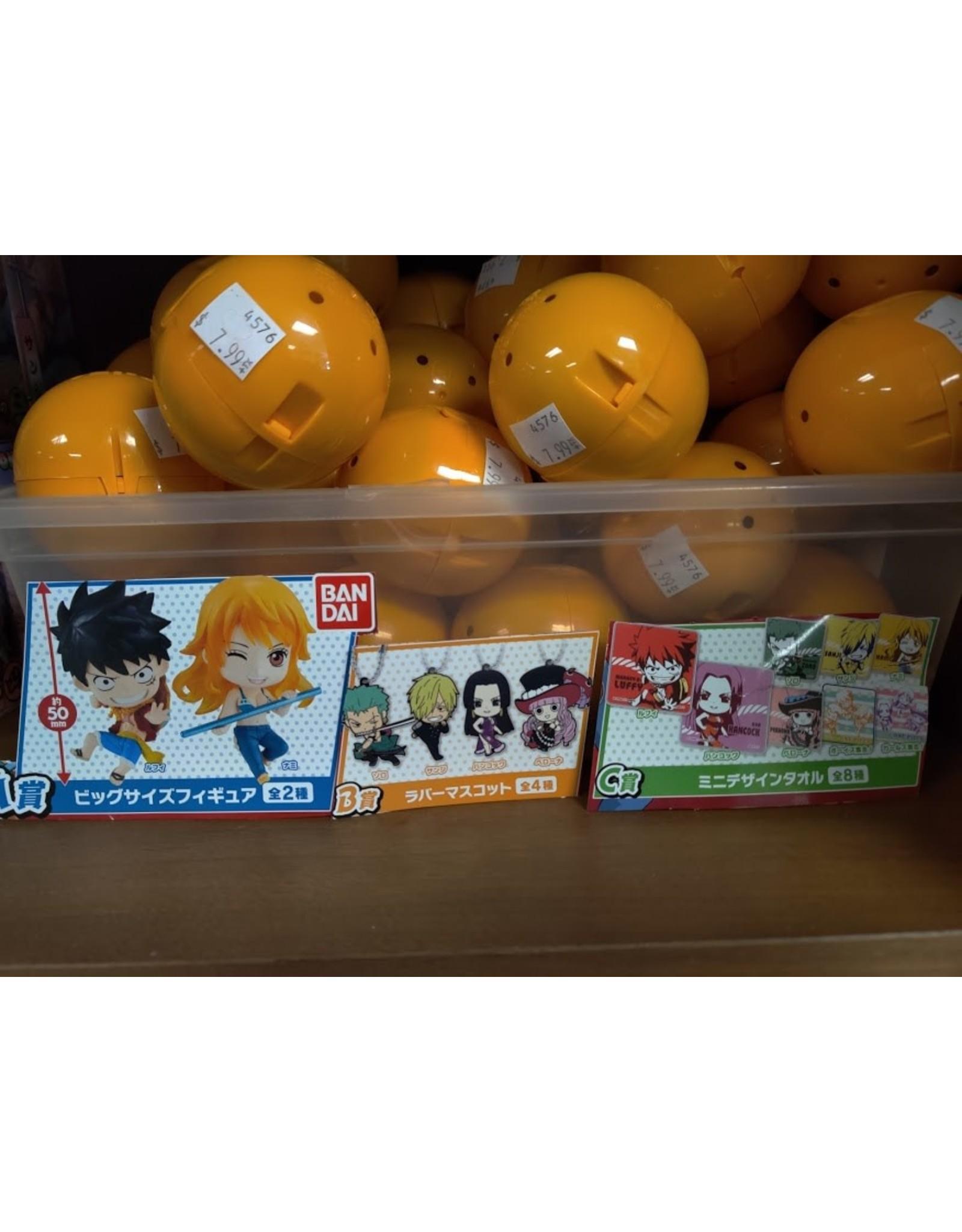 One Piece Towel/Strap/Figure Gachapon