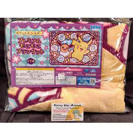 Pokemon Eevee Pikachu Blanket