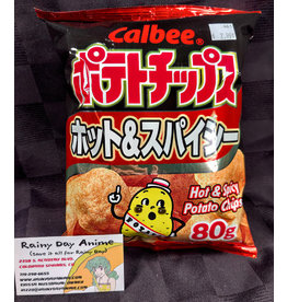 Calbee Hot & Spicy Chips