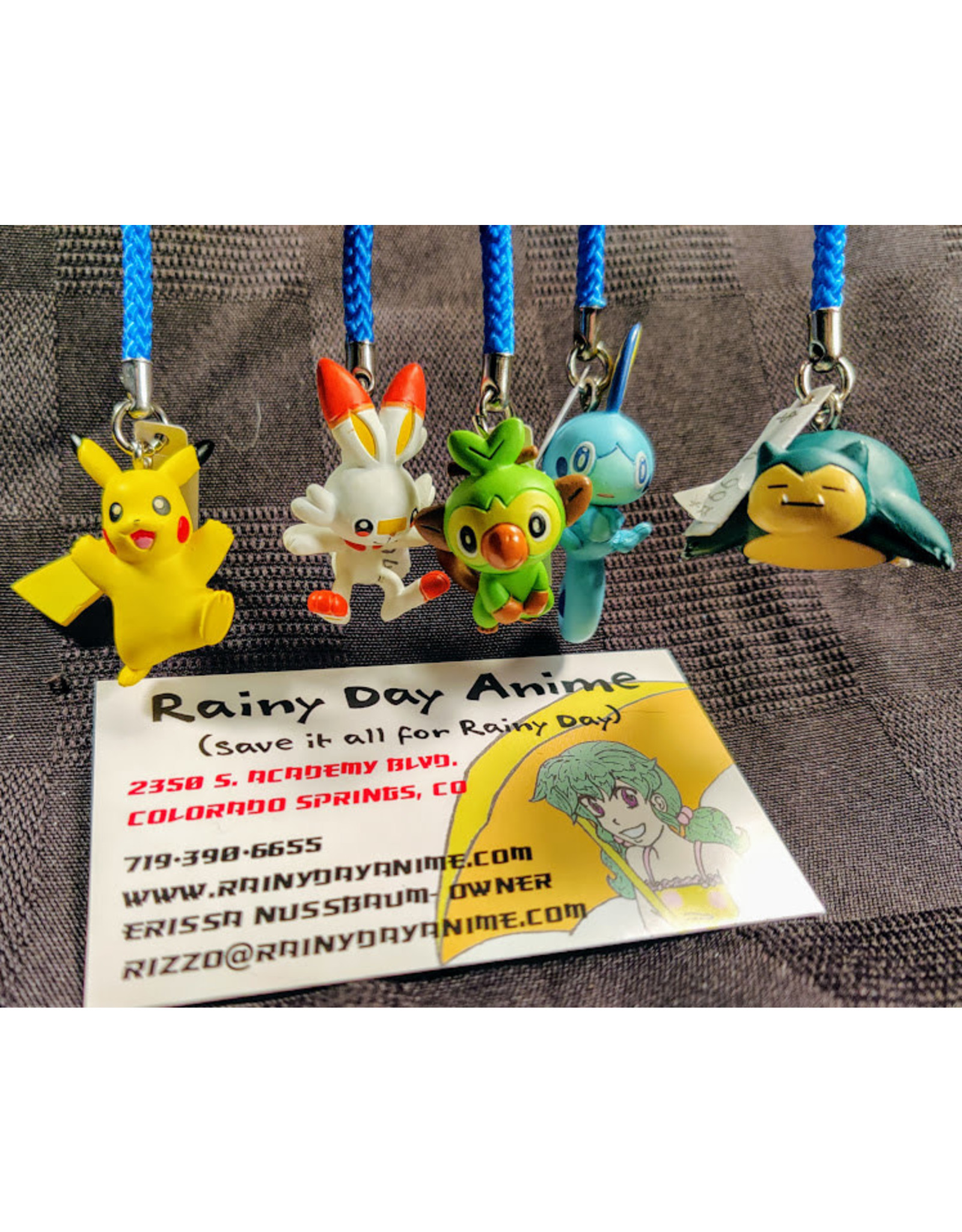 Pokemon Sword & Shield Straps