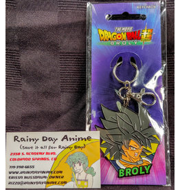 Dragon Ball Broly Metal Keychain
