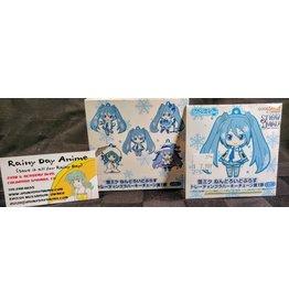 Vocaloid Snow Miku Keychain Blind Box