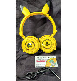 "Pokemon Sun & Moon PM Pikachu 11.8"" Headphones"