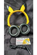 """Pokemon Sun & Moon PM Pikachu 11.8"""" Headphones"""
