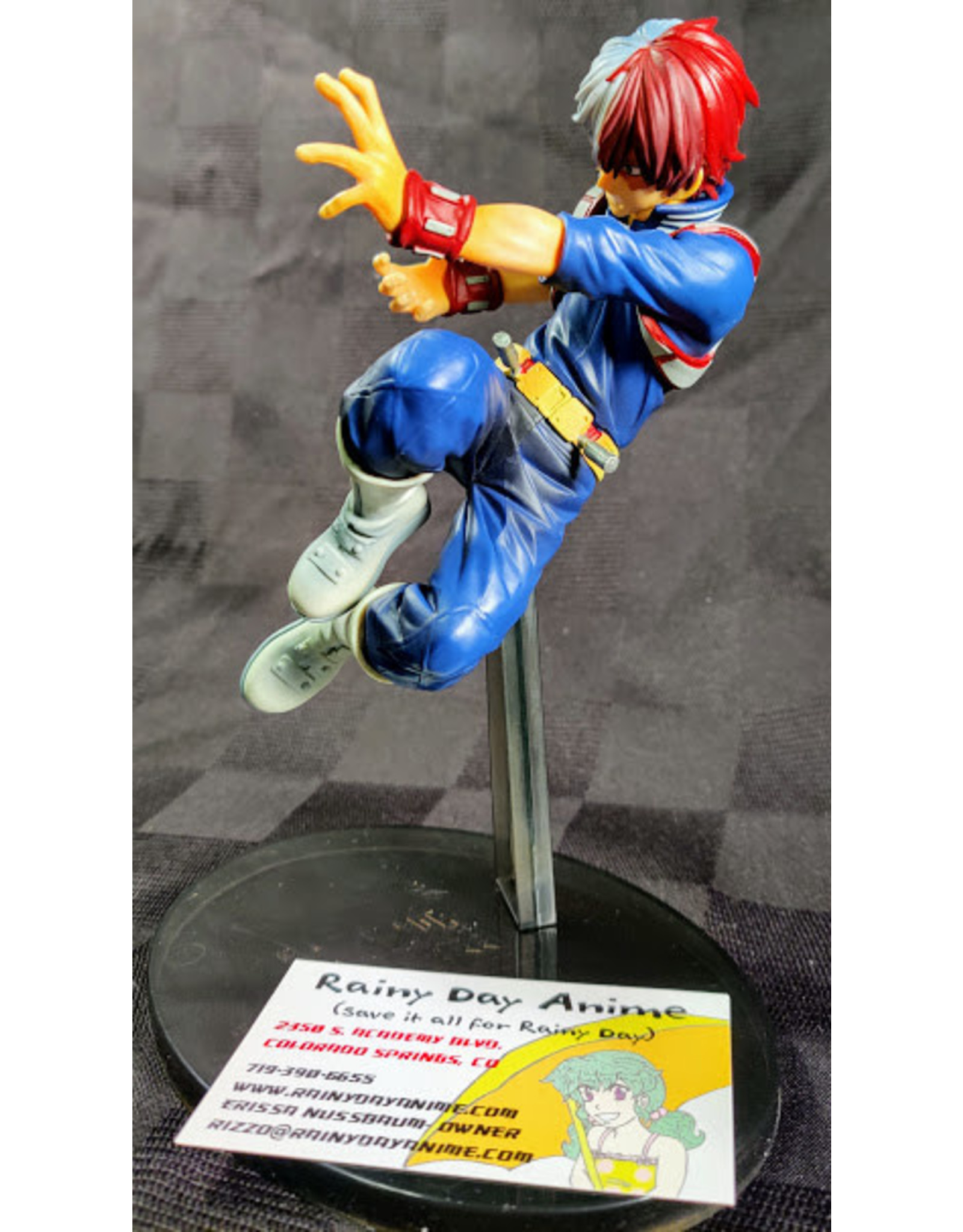 My Hero Academia Todoroki Colosseum Figure