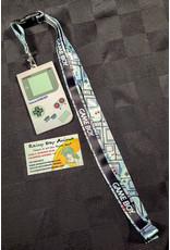 Nintendo Gameboy Badge Lanyard