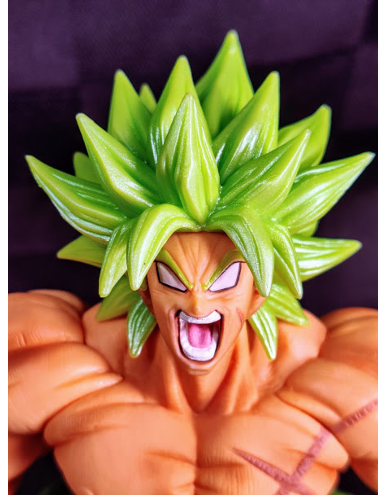 Dragon Ball Super Broly Colosseum Figure