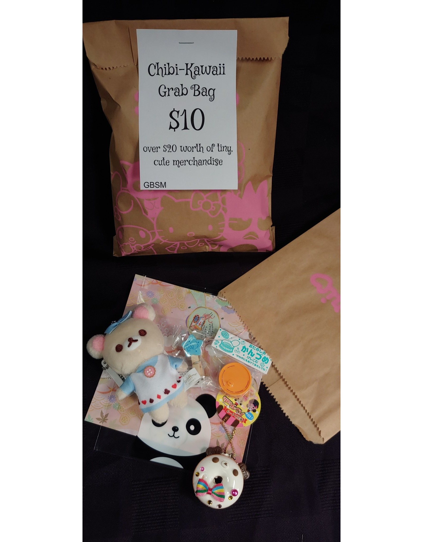 Chibi Kawaii (small cute)  Grab Bag