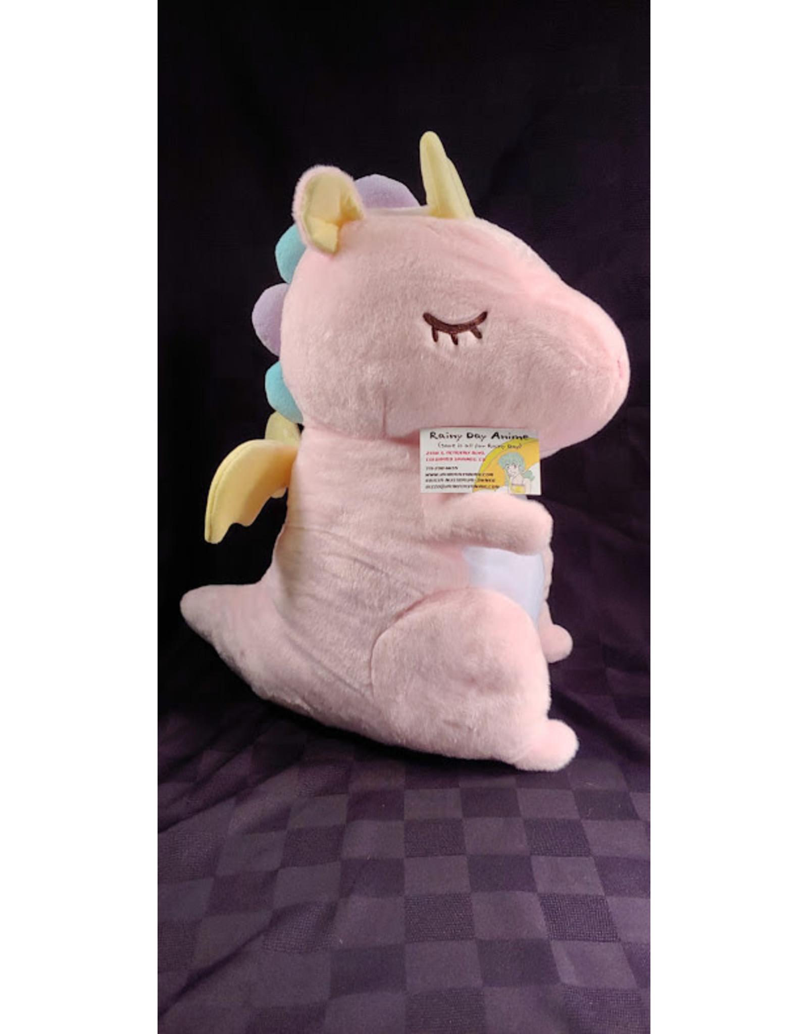 Fantasy Dragon Big Plush Pink