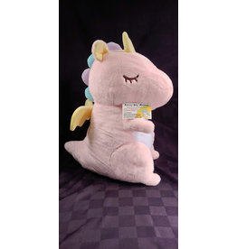 Fantasy Dragon Big Plush Pink