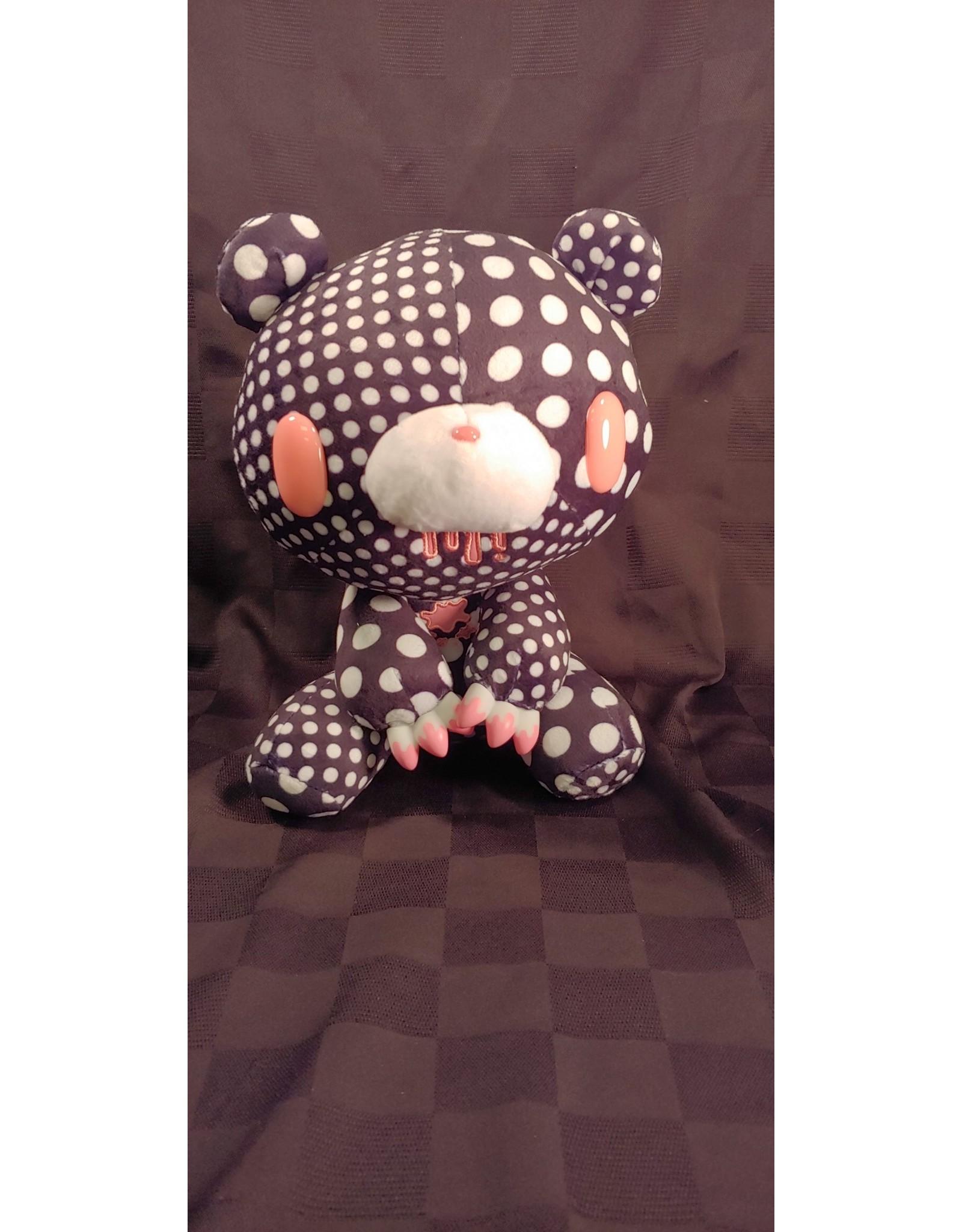 Gloomy Bear Crazy Dots Black Plush