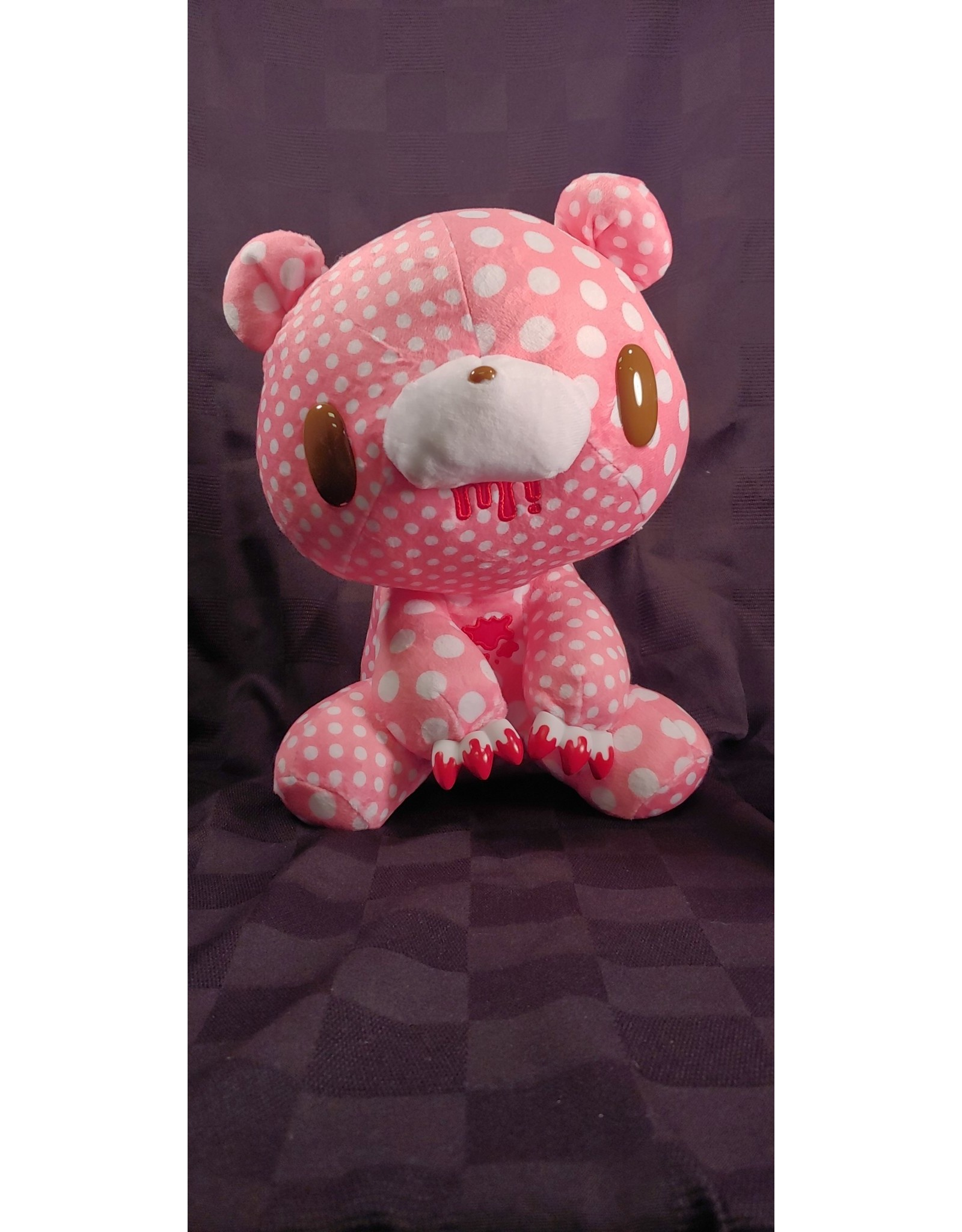 Gloomy Bear Crazy Dots Pink  Plush